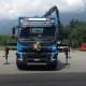 Volvo Lastwagen, Gasser Baumaterialien, Graubünden